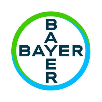 Logo der Bayer-AG